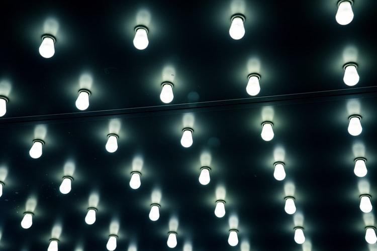 Soffito a illuminazione led